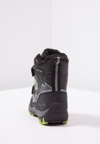 Kappa - RESCUE TEX - Winter boots - black/lime - 4