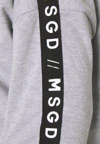 Missguided Plus - SLOGAN LOUNGE HOODIE - Sweatshirt - grey marl - 2