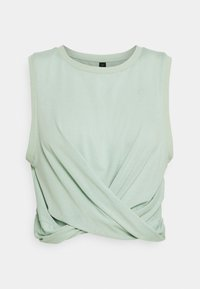 Cotton On Body - RUN WITH IT TWIST TANK - Toppi - mint chip - 0