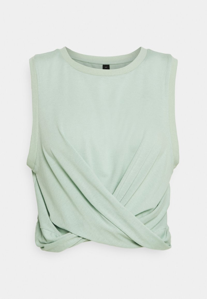 Cotton On Body - RUN WITH IT TWIST TANK - Top - mint chip