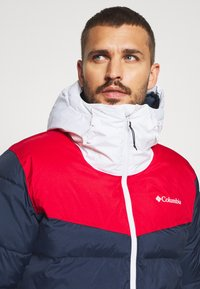 Columbia - ICELINE RIDGE JACKET - Kurtka narciarska - collegiate navy/mountain red/white - 3