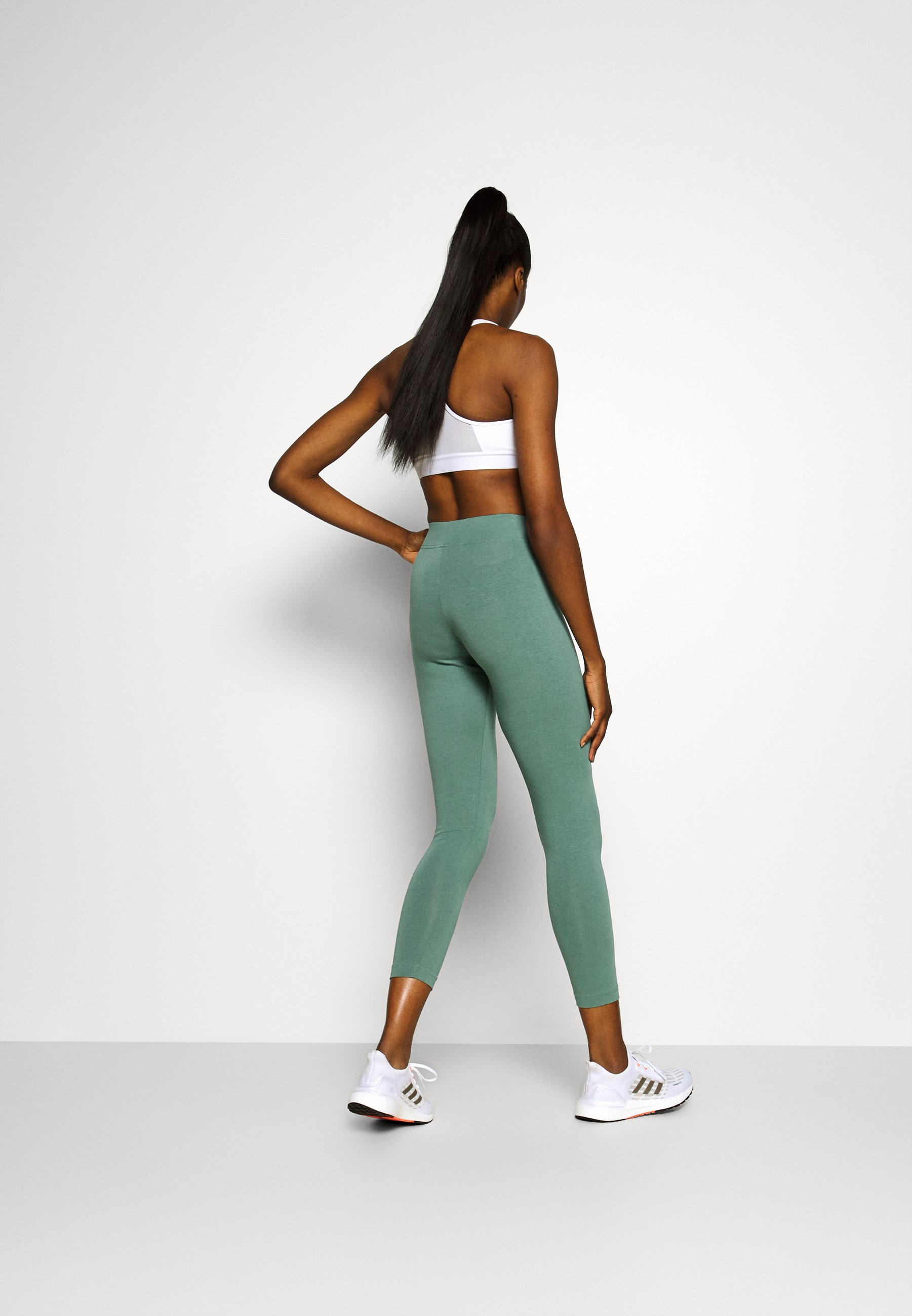 adidas Performance LIN - Leggings - teceme/greentint Zw4zT