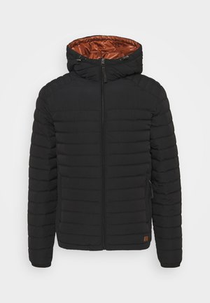 JJBASE LIGHT HOOD JACKET - Välikausitakki - black