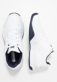 K-SWISS - COURT EXPRESS - Clay court tennis shoes - white/navy - 1