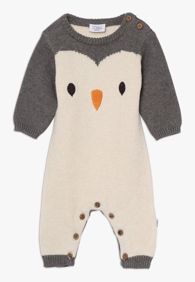 MANLY - Tuta jumpsuit - grey