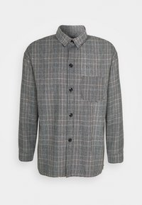 Mennace - RAW HEM CHECK  - Lehká bunda - grey - 4