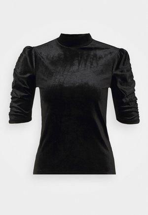 NARIN TOP - T-shirt à manches longues - black