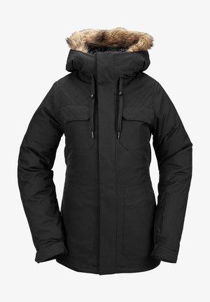 SHADOW INS JACKET - Chaqueta de snowboard - black