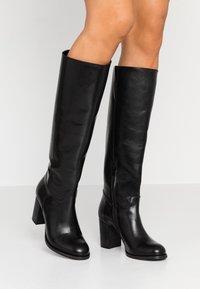Lazamani - Høje støvler/ Støvler - black - 0