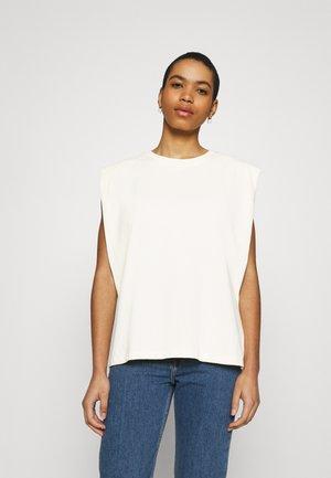 EDITH TEE - Basic T-shirt - antique white