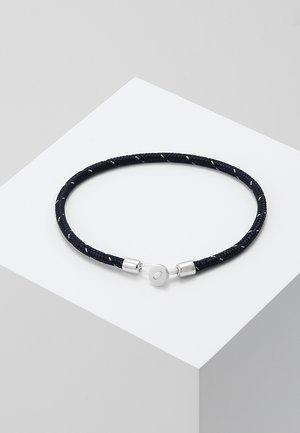 NEXUS ROPE BRACELET - Bracelet - navy/steel