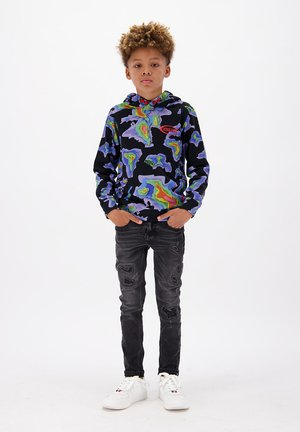 Longsleeve - multicolor black
