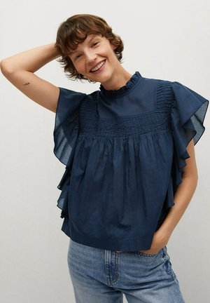 COLISEO-H - Blouse - marineblauw