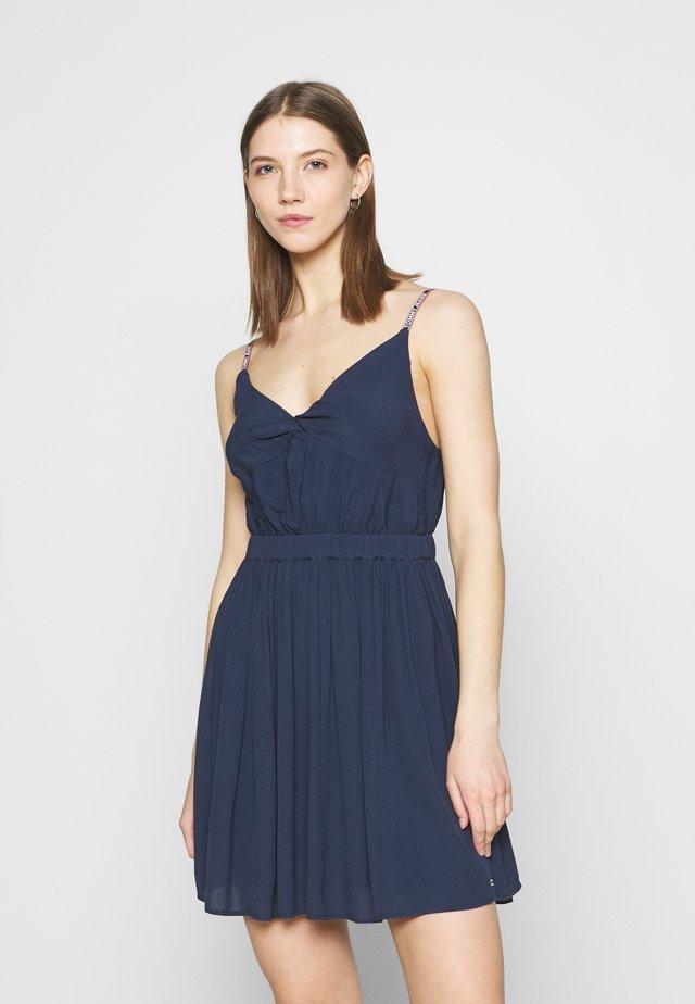 ESSENTIAL STRAP DRESS - Korte jurk - twilight navy