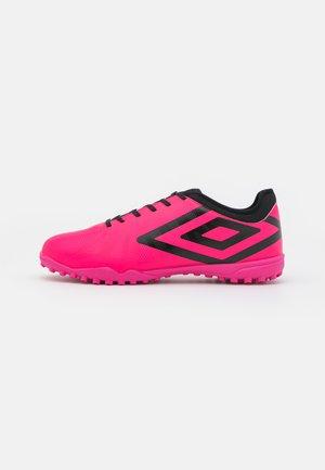 VELOCITA VI CLUB TF - Astro turf trainers - pink peacock/black/white