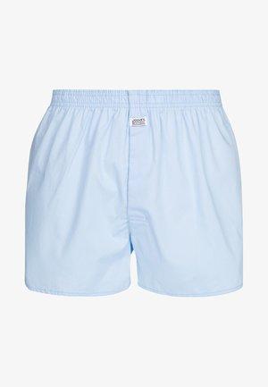 Boxer shorts - shirting blue