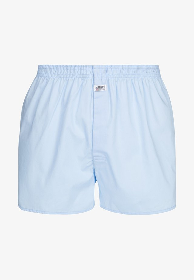 Boxershorts - shirting blue