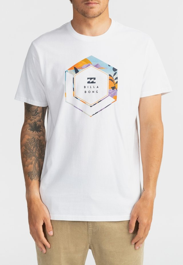 ARCH  - Print T-shirt - white