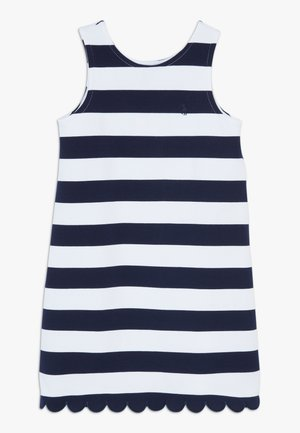 PONTE - Žerzejové šaty - french navy/white