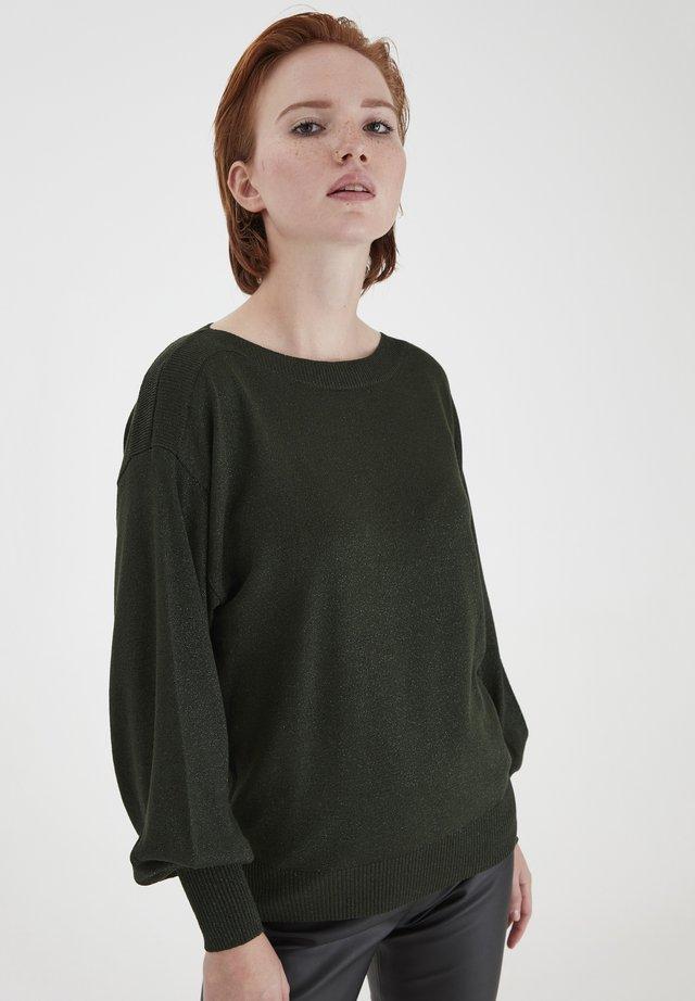 Sweter - kombu green