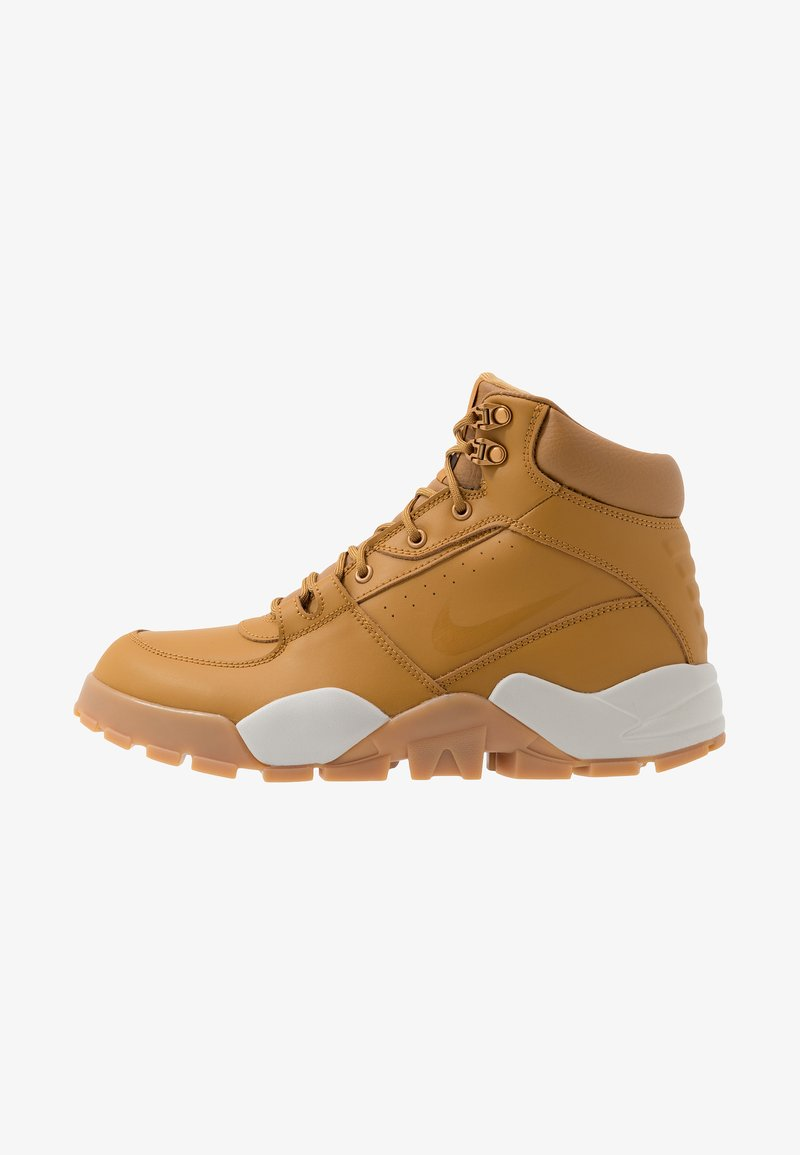 Nike Sportswear - RHYODOMO - Korkeavartiset tennarit - wheat/light bone/brown/baroque brown