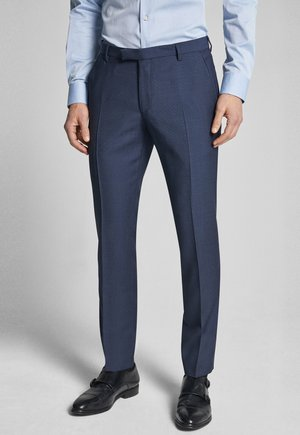BLAYR - Suit trousers - dunkelblau