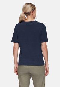 Mammut - T-shirt basic - marine - 1