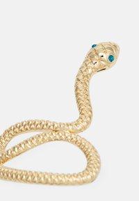 Pieces - PCLAIDE BRACELET  - Bracelet - gold colour/green - 2