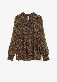 Mango - CHICAGO - Button-down blouse - braun - 6