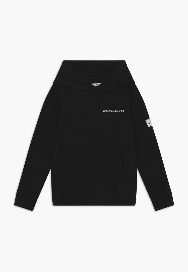 Calvin Klein Jeans - MONOGRAM SLEEVE HOODIE - Mikina skapucí - black