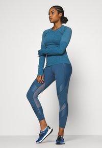 Sweaty Betty - POWER SCULPT WORKOUT LEGGINGS - Legging - stellar blue - 1