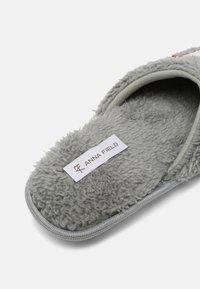 Anna Field - Slippers - grey - 5
