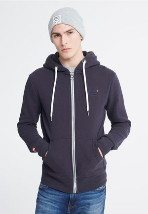 ORANGE LABEL - Zip-up hoodie - truest navy