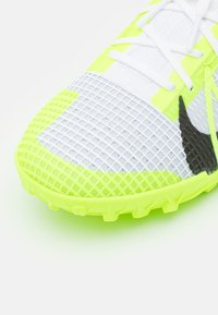 Nike Performance - MERCURIAL ZOOM VAPOR 14 PRO TF - Astro turf trainers - white/black/metallic silver/volt - 5
