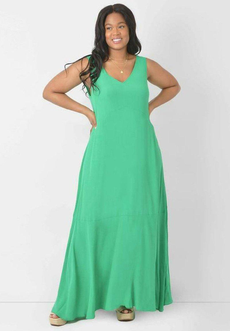 Live Unlimited London - Maxi dress - green