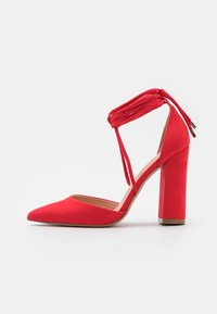 Even&Odd - Lace-up heels - red - 1