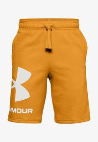 Under Armour - Sports shorts - golden yellow - 0