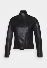 ONLY - ONLNOELLA JACKET - Veste en similicuir - black - 3