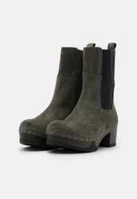 Softclox - Platform ankle boots - green - 2