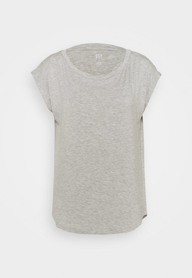 LUXE  - T-Shirt basic - heather grey
