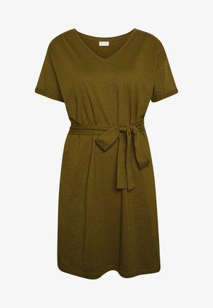 VIDREAMERS DRESS - Vestido ligero - dark olive