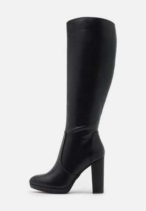 MARIE - High heeled boots - black