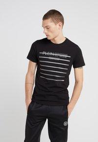 Plein Sport - ROUND NECK  - T-shirt print - black - 0