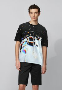 BOSS - T-Shirt print - patterned - 0