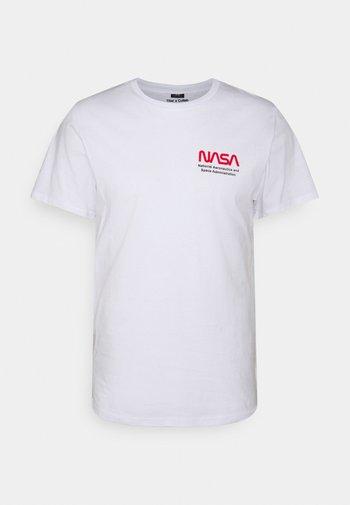 COLLAB POP CULTURE - T-shirt z nadrukiem - white