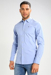 Tommy Jeans - ORIGINAL STRETCH SLIM FIT - Camicia - lavender lustre - 0