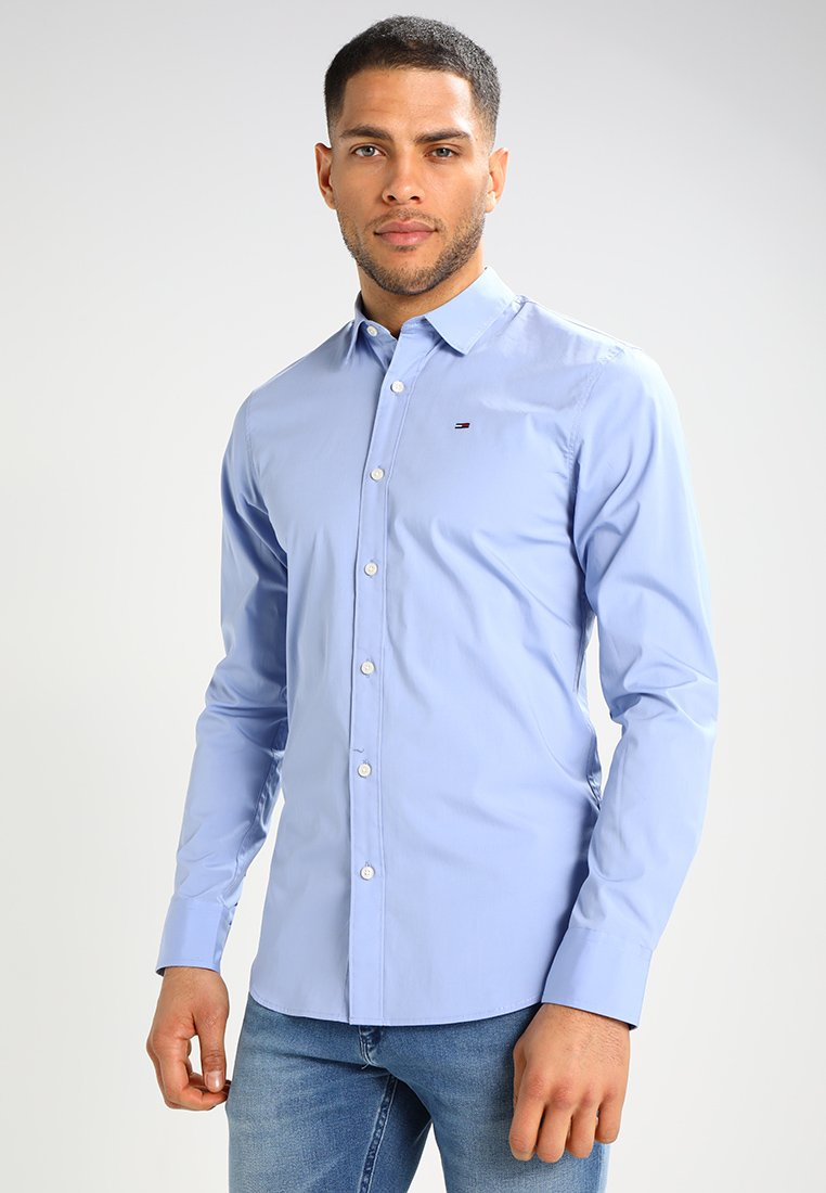 Tommy Jeans - ORIGINAL STRETCH SLIM FIT - Camicia - lavender lustre