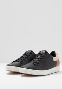 ECCO - ECCO SOFT 7 W - Trainers - black/rose dust/lion - 4