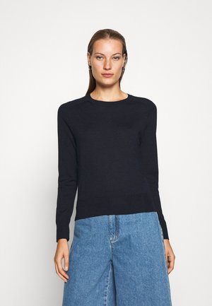 CREW SOLIDS - Jumper - preppy navy
