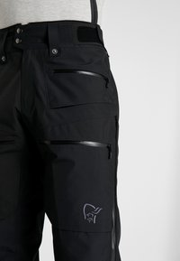Norrøna - LOFOTEN GORE-TEX INSULATED PANTS - Spodnie narciarskie - caviar - 3